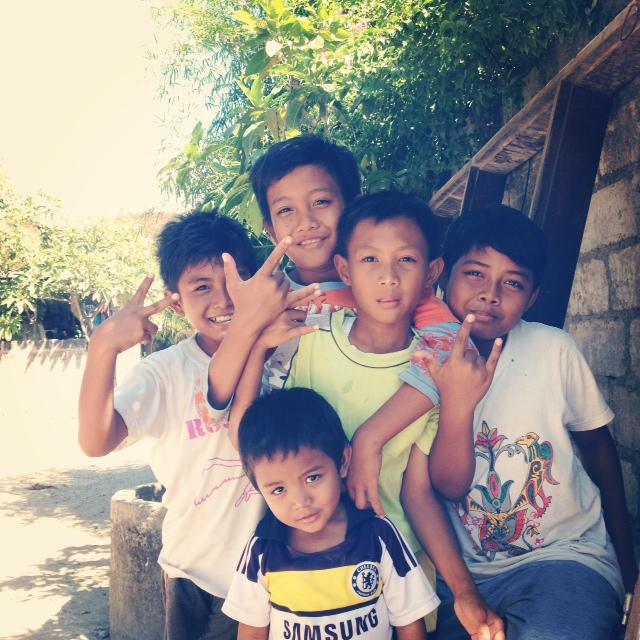 バリの子供たち