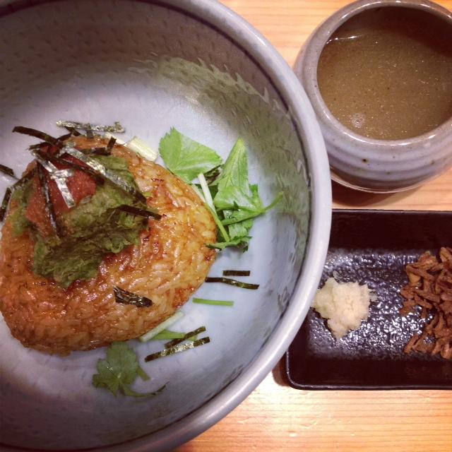 焼きご飯&ふき味噌&明太子